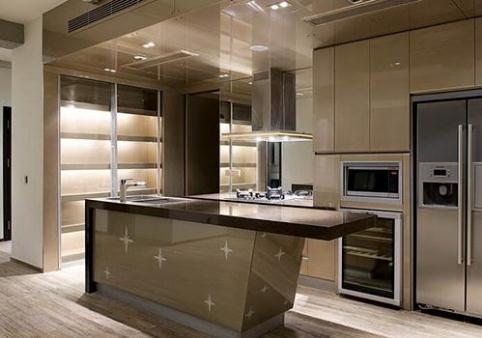 开放式厨房的隔断装修