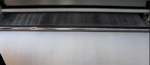 两厢开松除杂机梳理效果