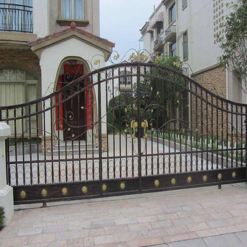 仿古庭院大门