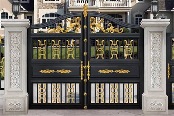 中式庭院大门