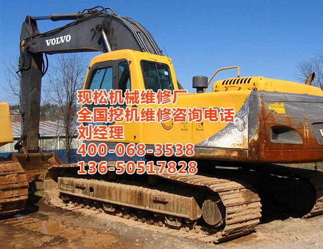 """挖掘机发动机传动齿轮响""""故障的维修方法"""