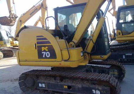 小松挖机难启动维修