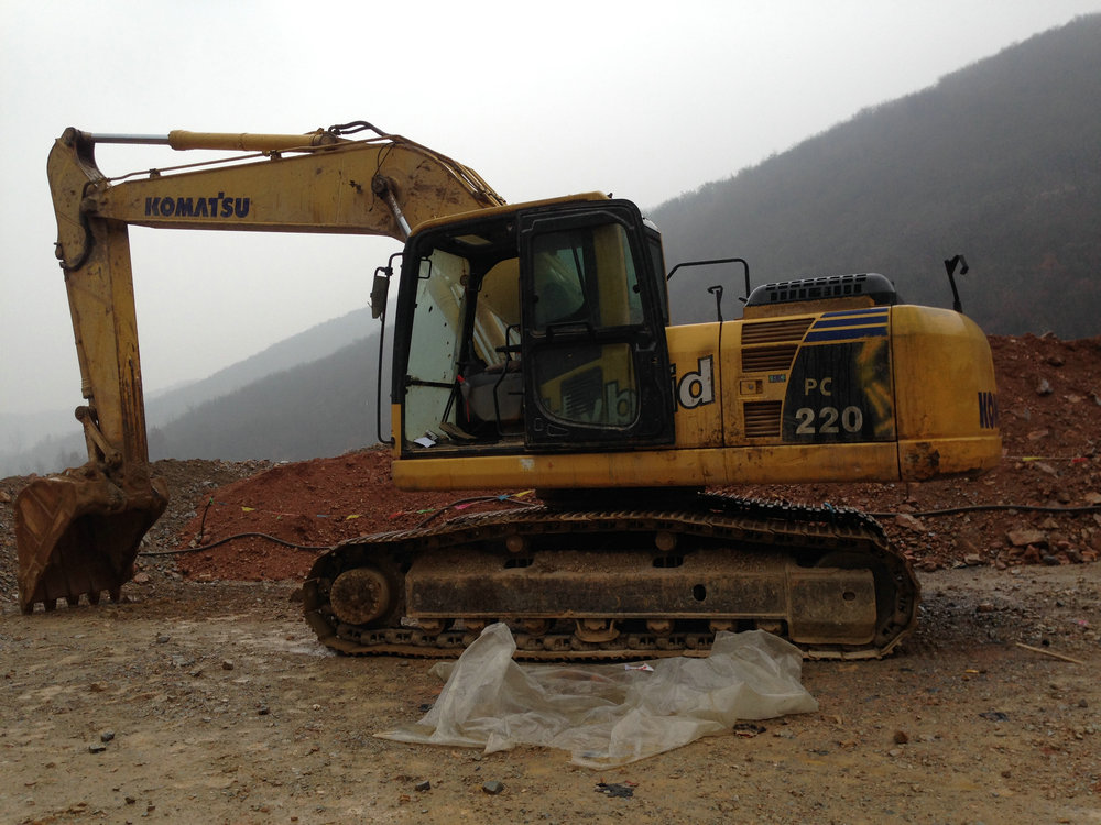 重庆小松挖掘机维修
