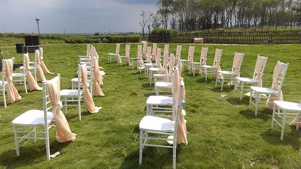白色竹節椅租賃