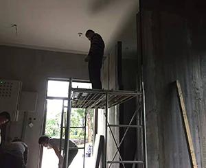 轻体隔墙板施工