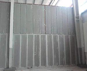 隔墙板安装现场