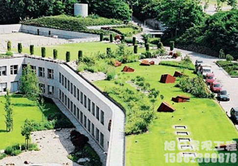 屋顶造型绿化