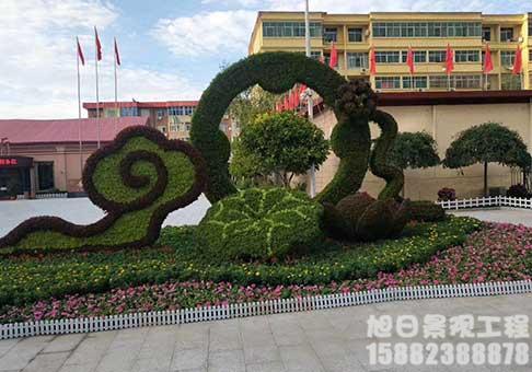 四川景观造型生态绿雕