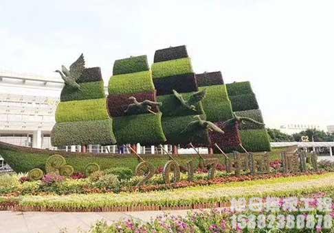 造型生态绿雕
