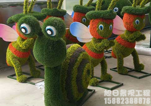 四川动物仿真绿雕