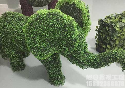 四川大象仿真绿雕