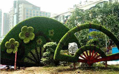 成都景观造型生态绿雕