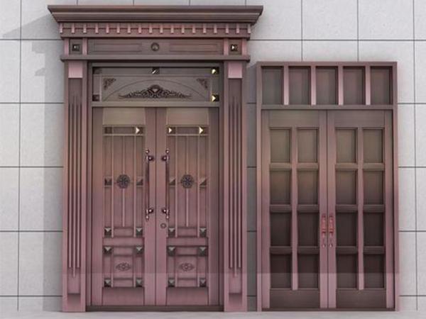 不锈钢庭院门