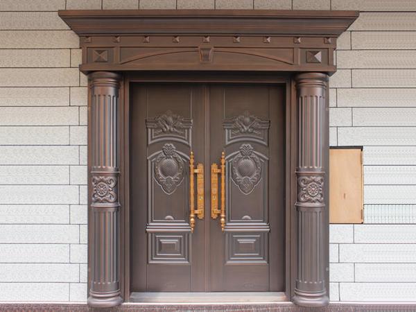 别墅不锈钢门