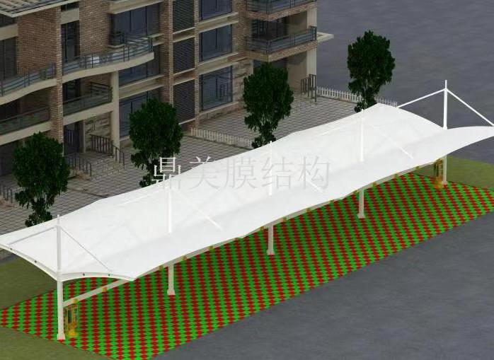 膜结构停车棚公司