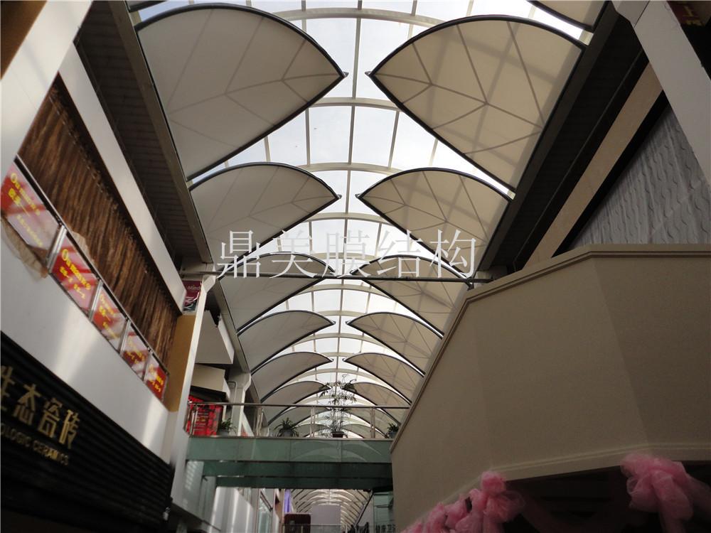 屋顶膜结构施工