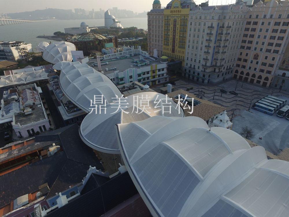 屋顶膜结构设计
