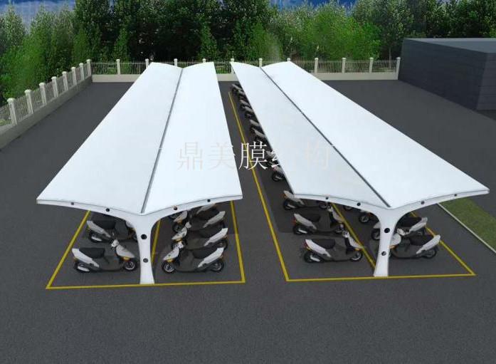 膜结构充电桩工程