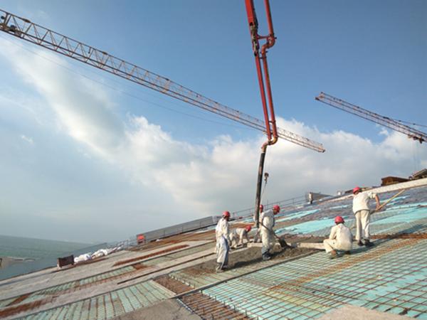 斜屋面防水工程