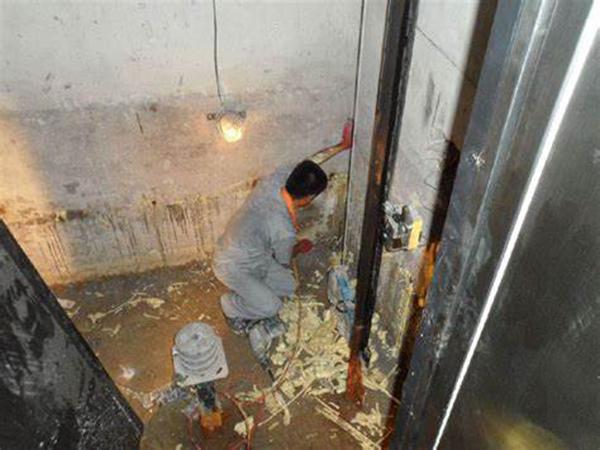 电梯井防水堵漏工程
