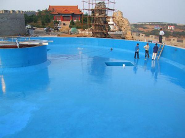 游泳池防水堵漏工程