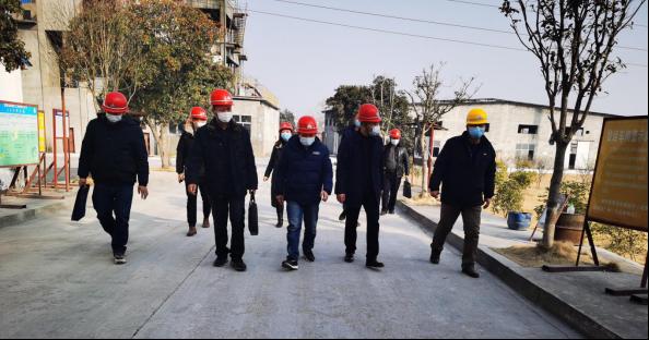 南漳縣市場監督管理局領導蒞臨高隆公司檢查指導工作