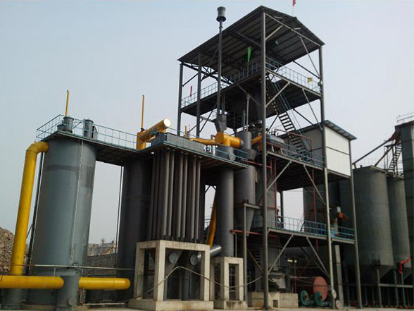 電捕焦油器煤气发生炉