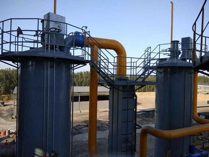 河北濕式焦油器安裝案例