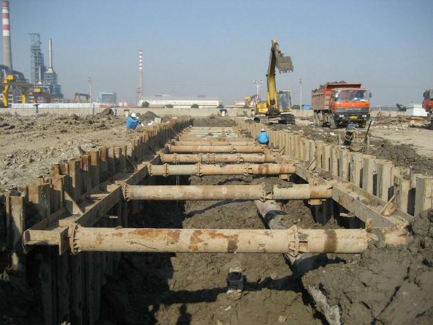 鋼板支護樁