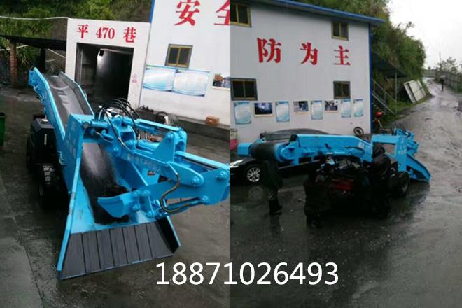 贵州70轮式皮带扒渣机
