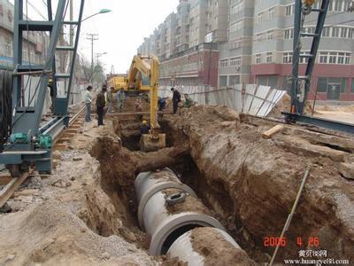 中建三局东津新区二横一纵道路工程