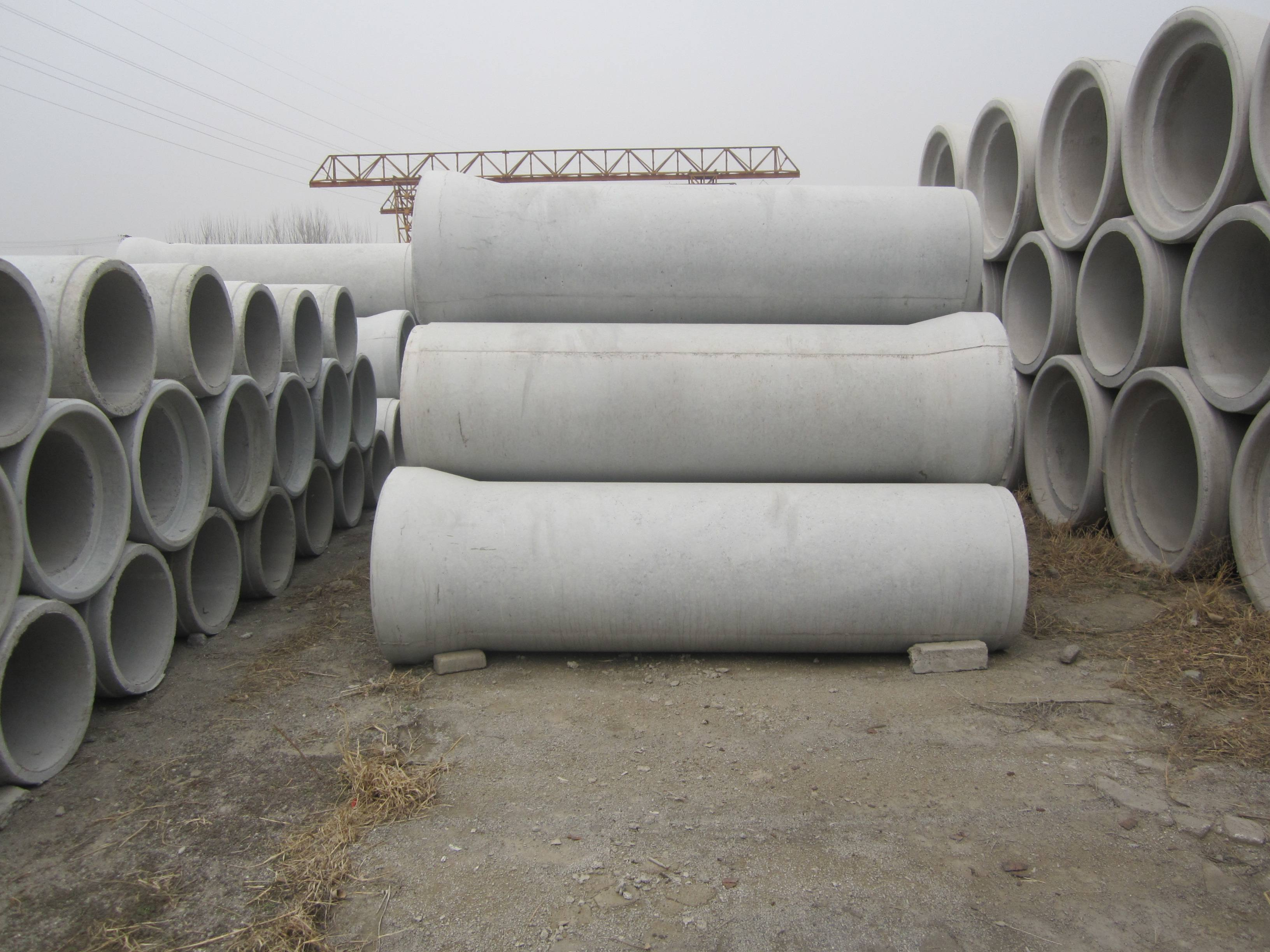 信阳水泥管中线测定方法
