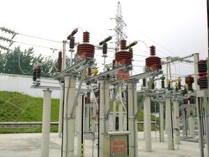 無線測溫系統—長春市某變電站現場