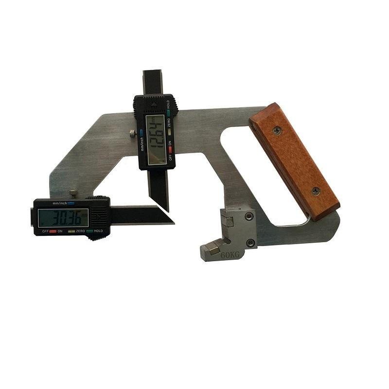 数显式钢轨磨耗测量仪GMC-60