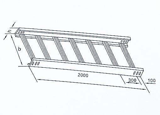 XQJ-T1-01型梯级式直通桥架