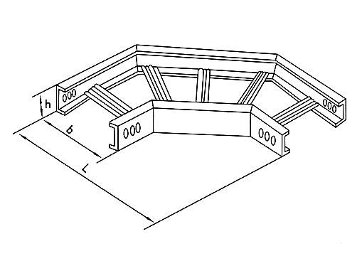 XQJ-T1-02型梯级式水平弯通