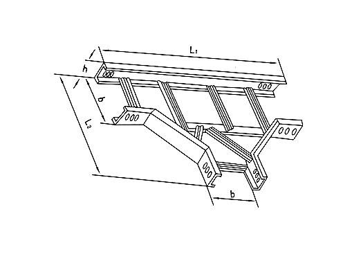 XQJ-T1-03型梯级式水平三通