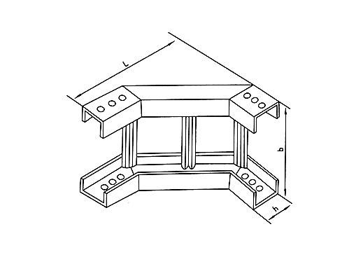 XQJ-T1-05A型梯级式垂直凹弯通