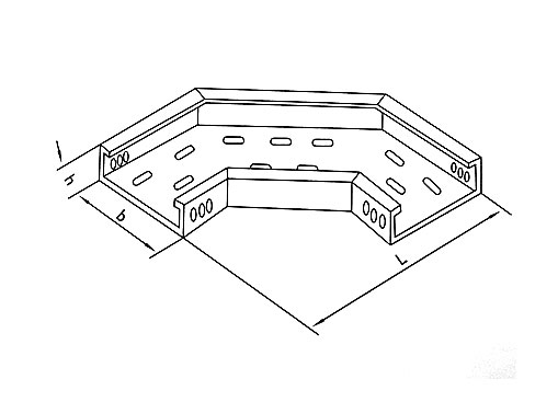 XQJ-P-02型托盘式水平弯通
