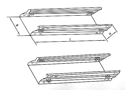 DJ-C-A型槽式大跨距电缆桥架