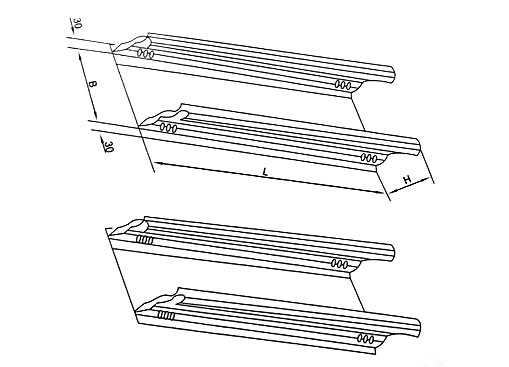 DJ-C-B型槽式大跨距电缆桥架