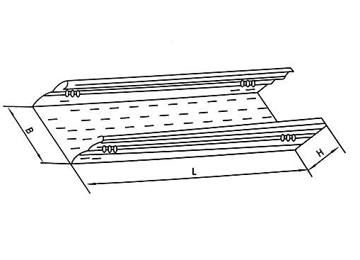 DJ-P-A型托盘式大跨距电缆桥架(A型)