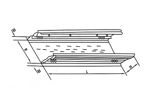 DJ-P-B型托盘式大跨距电缆桥架(B型)