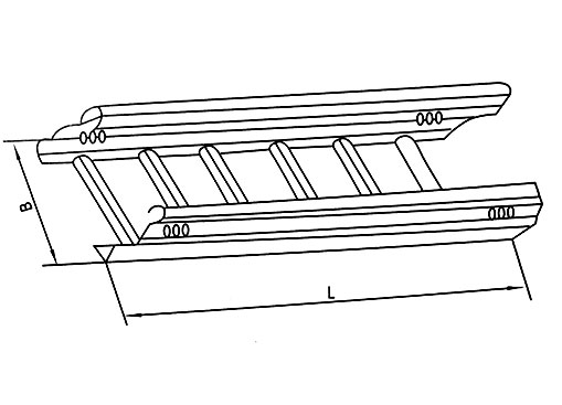 DJ-T-A型梯级式大跨距电缆桥架(A型)