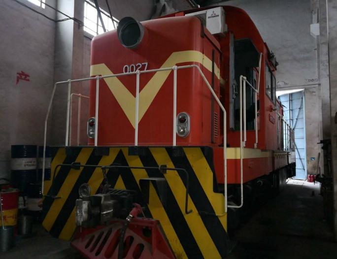 货车火车头