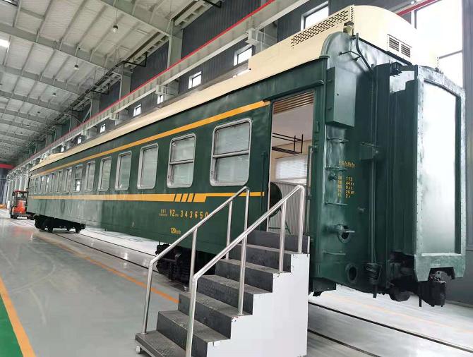 废旧火车厢回收中如何处置金属物体