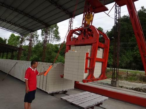 4排全自動遙控吊磚夾具 吊磚夾 吊磚器