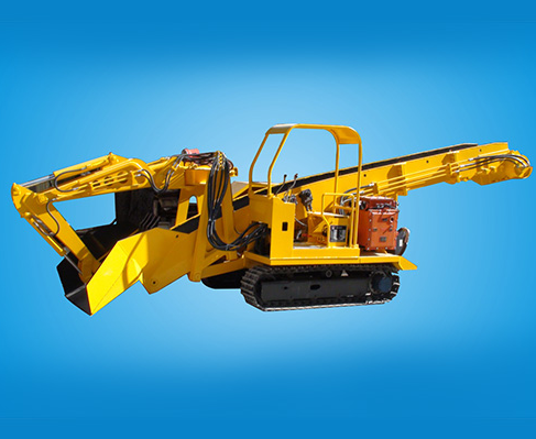 LDZ120型履带式挖斗装渣机