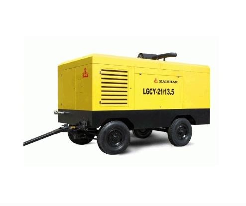 柴油機頭可移動式空壓機