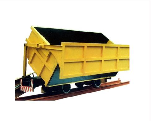 側卸式礦車